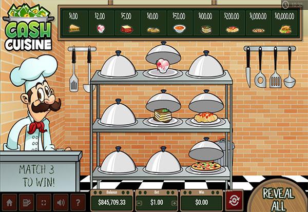 Cash Cuisine 777 Slots Bay game