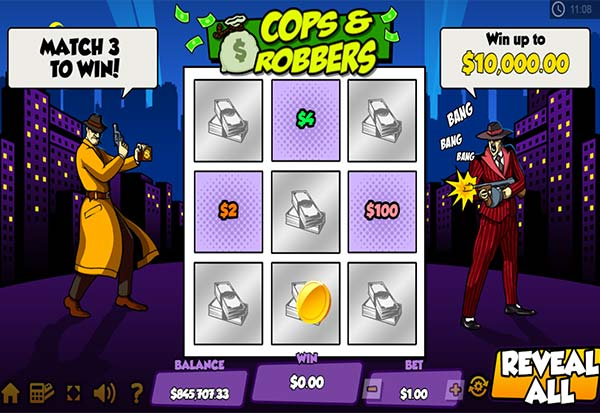Cops And Robbers 777 Slots Bay game