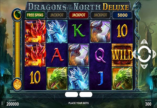 Dragons of the North Deluxe 777 Slots Bay game