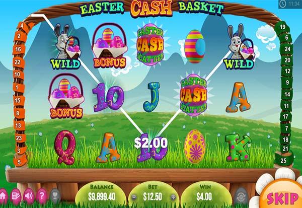Easter Cash Basket 777 Slots Bay game