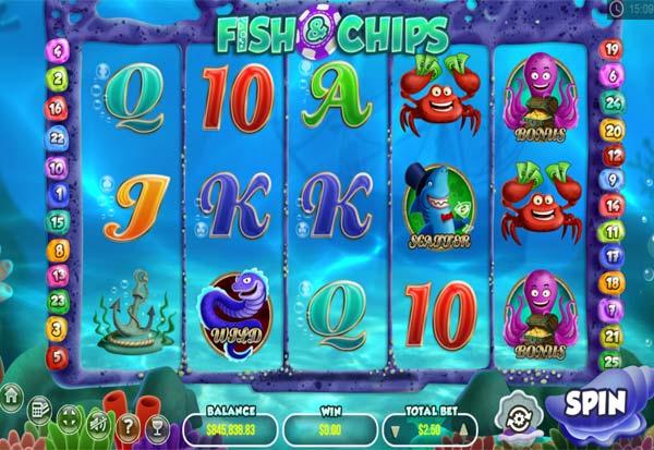 Fish And Chips 777 Slots Bay game