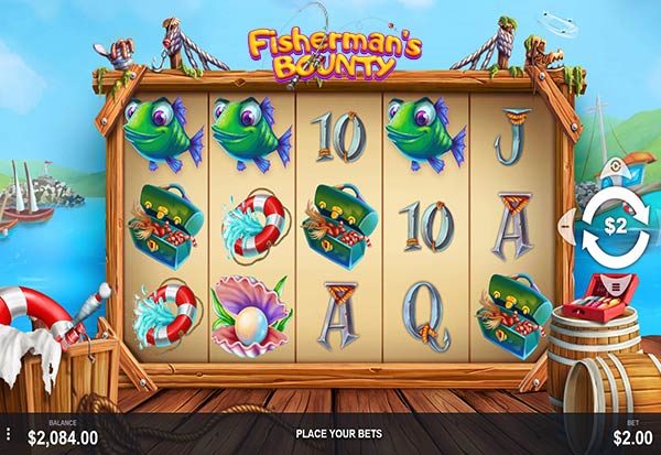 Fisherman's Bounty 777 Slots Bay game