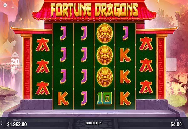 Fortune Dragon 777 Slots Bay game