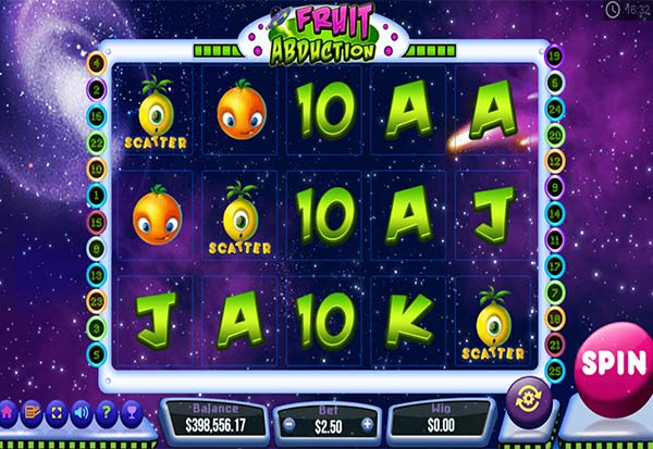 Fruit Abduction 777 Slots Bay game