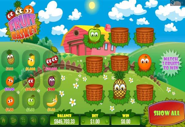 Fruit Basket 777 Slots Bay game