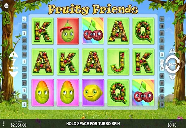 Fruity friends 777 Slots Bay game