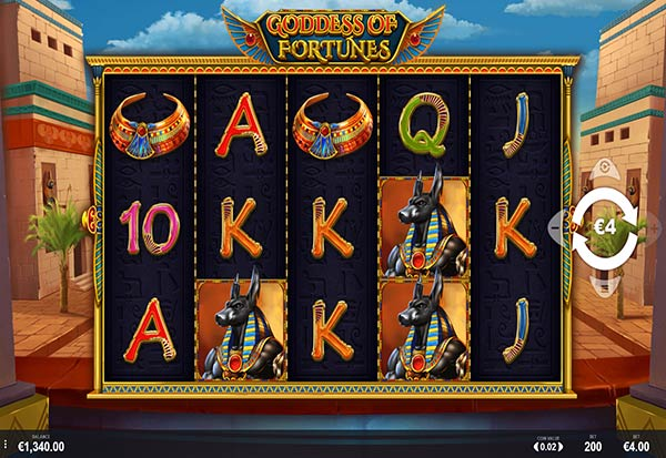 Goddess of Fortunes 777 Slots Bay game