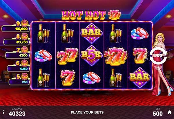 Hot Hot 777 777 Slots Bay game