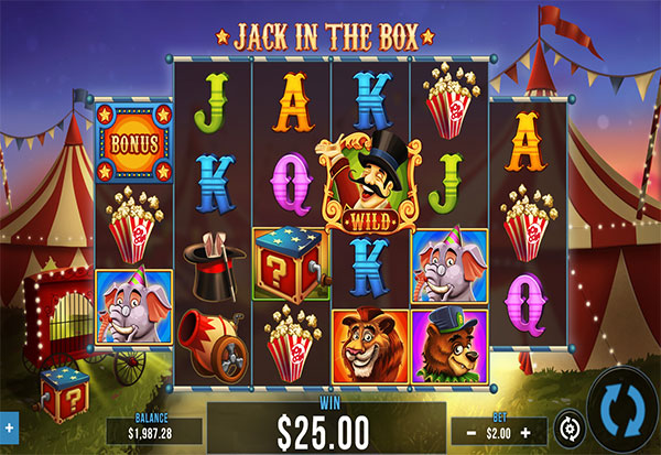 Jack In The Box 777 Slots Bay game