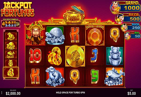 Jackpot Fortunes 777 Slots Bay game
