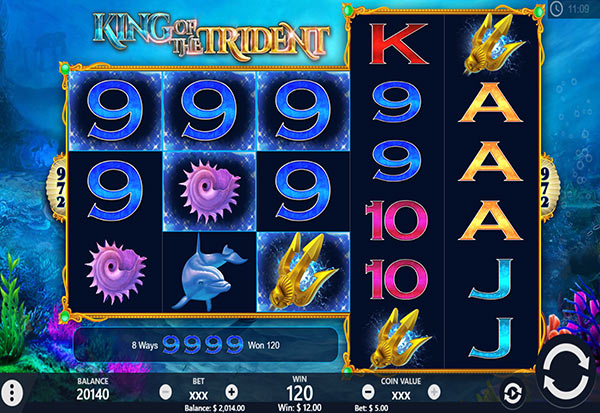 King of the Trident 777 Slots Bay game