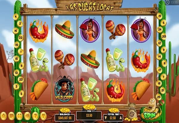 Las Cucac Locas 777 Slots Bay game