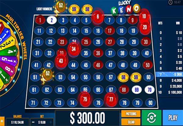 Lucky Keno 777 Slots Bay game