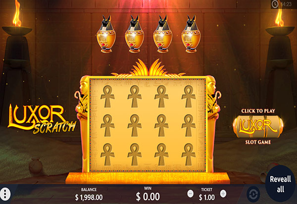 Luxor Scratch 777 Slots Bay game