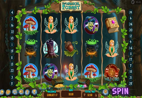 Magical Forest 777 Slots Bay game