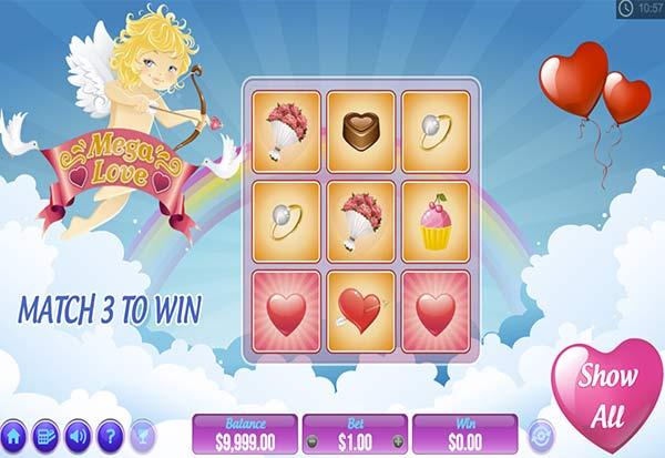 Mega Love 777 Slots Bay game