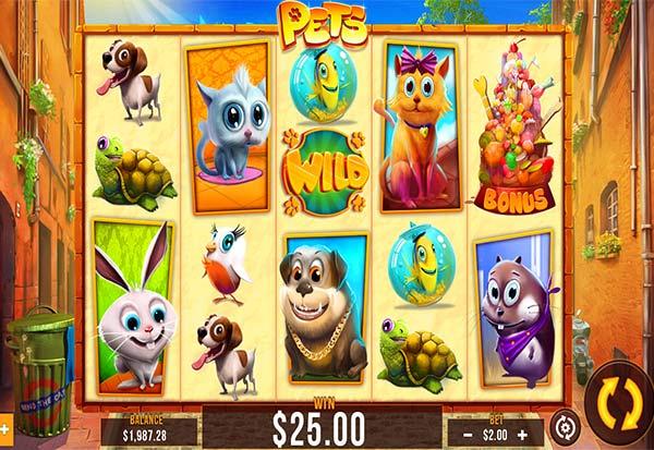 Pets 777 Slots Bay game