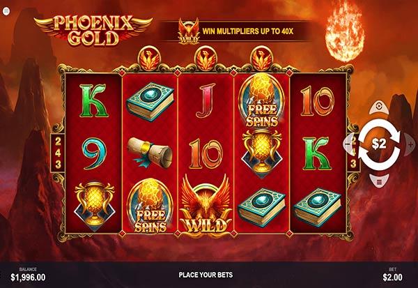 Phoenix Gold 777 Slots Bay game