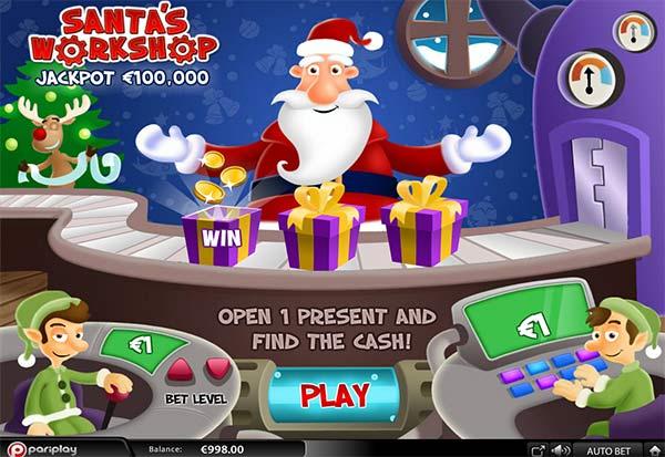 Santas Workshop 777 Slots Bay game