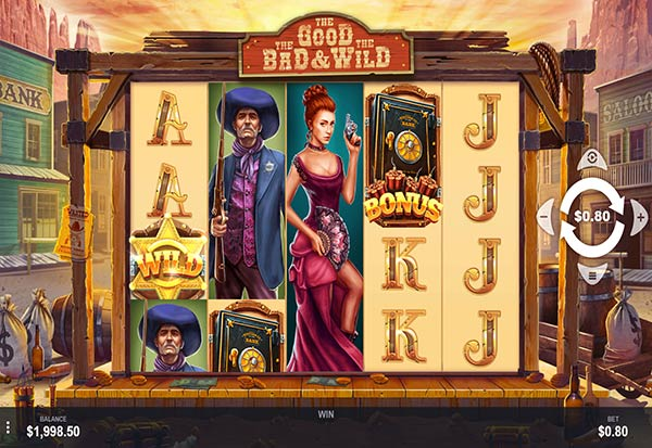 The Good The Bad & The Wild 777 Slots Bay game