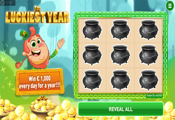 The Luckiest Year 777 Slots Bay game