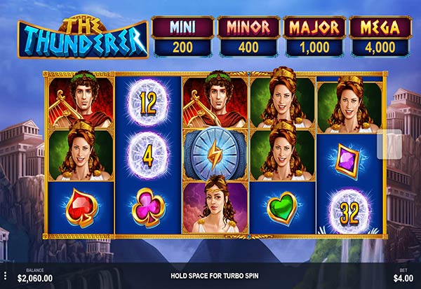 The Thunderer 777 Slots Bay game