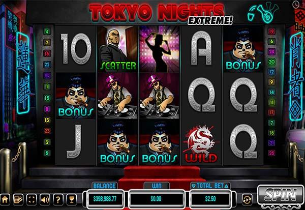 Tokyo Nights 777 Slots Bay game