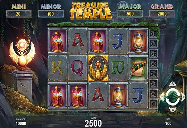 Treasure Temple 777 Slots Bay game