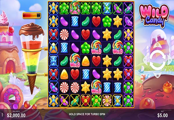 Wild Candy 777 Slots Bay game