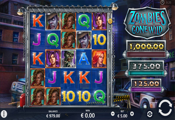 Zombies Gone Wild 777 Slots Bay game