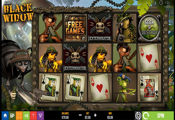 Black Widow 777 Slots Bay game