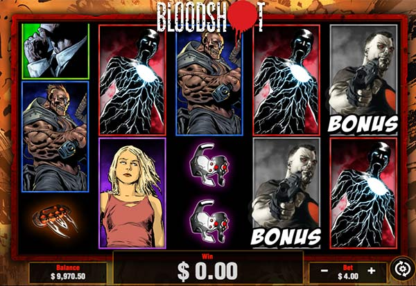 Blood Shot 777 Slots Bay game