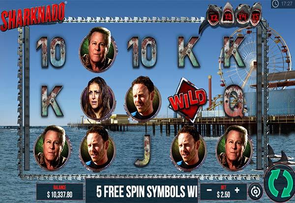 Sharknado 777 Slots Bay game