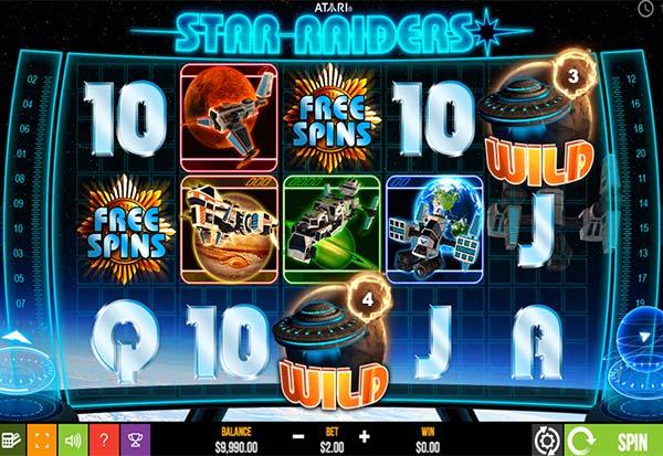 Star Raiders 777 Slots Bay game