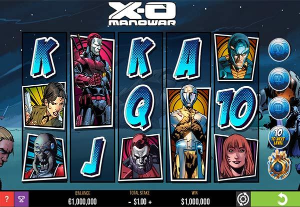 XOManowar 777 Slots Bay game