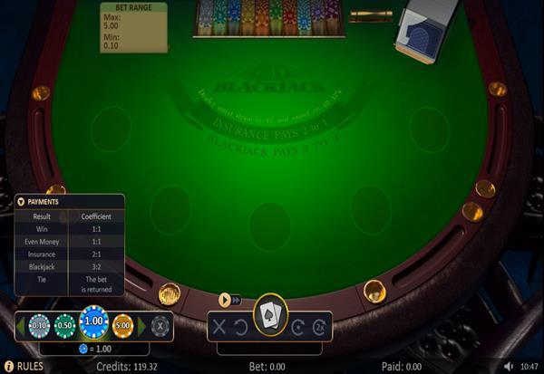 Blackjack low 777 Slots Bay game