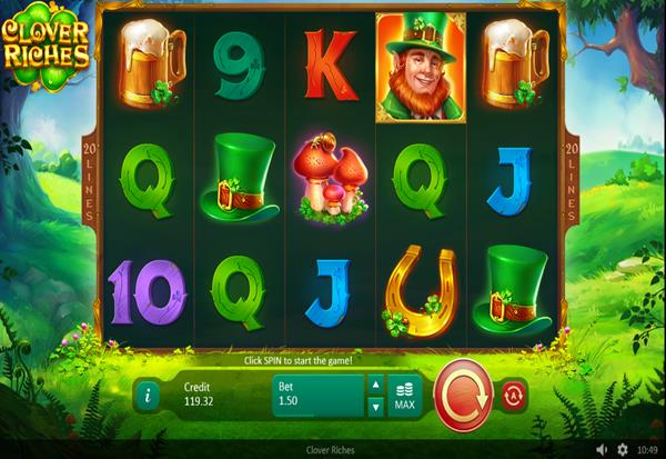 Clover Riches 777 Slots Bay game