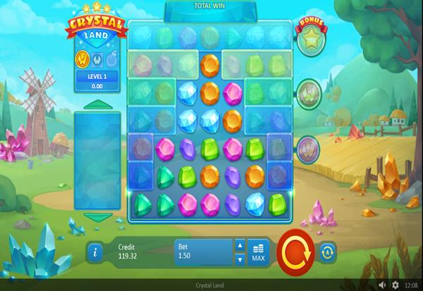 Crystal Land 777 Slots Bay game