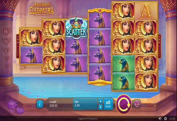 Legend of Cleopatra 777 Slots Bay game