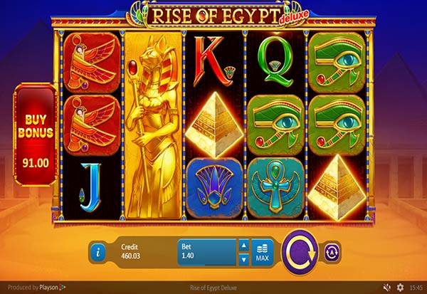 Rise of Egypt Deluxe 777 Slots Bay game