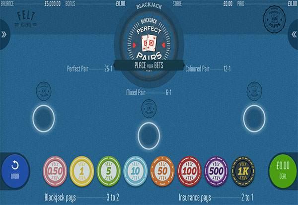 Perfect Pairs 777 Slots Bay game