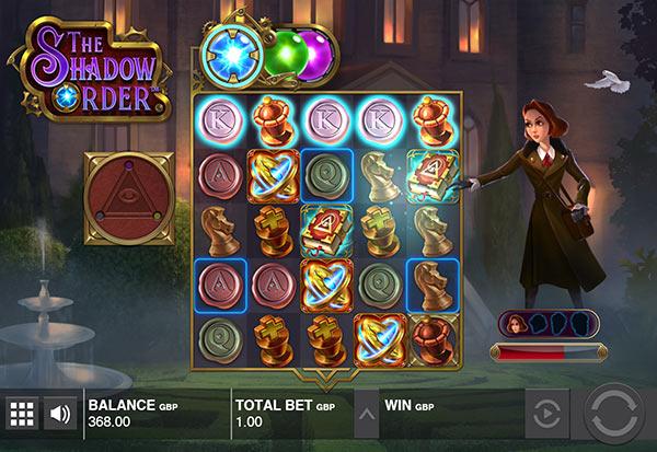 The Shadow Order 777 Slots Bay game