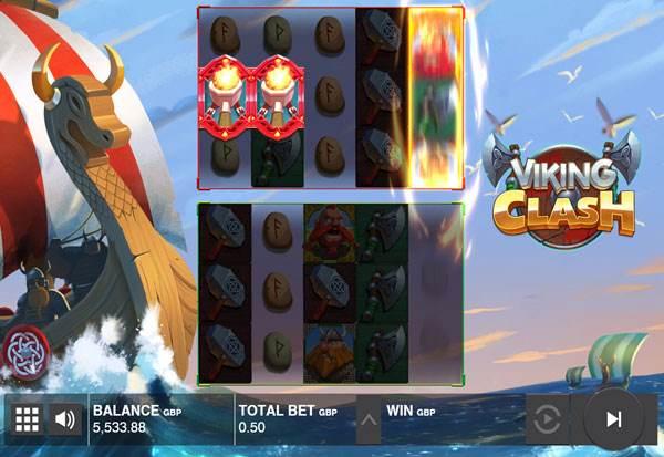 Viking Clash 777 Slots Bay game