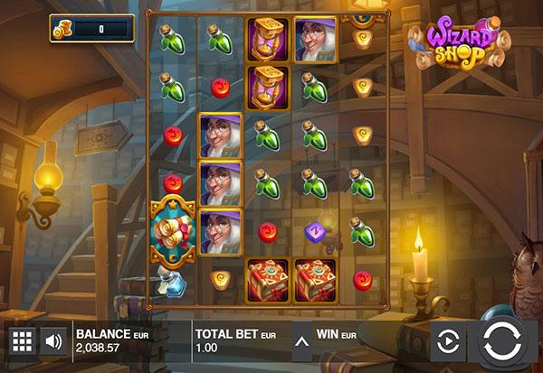 Wizard Shop 777 Slots Bay game