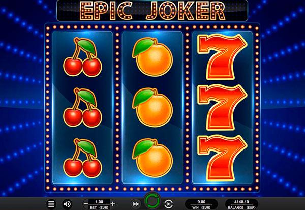 Epic Joker 777 Slots Bay game