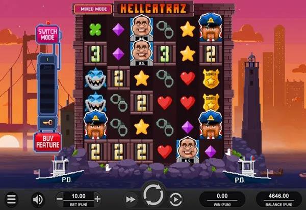 Hellcatraz 777 Slots Bay game