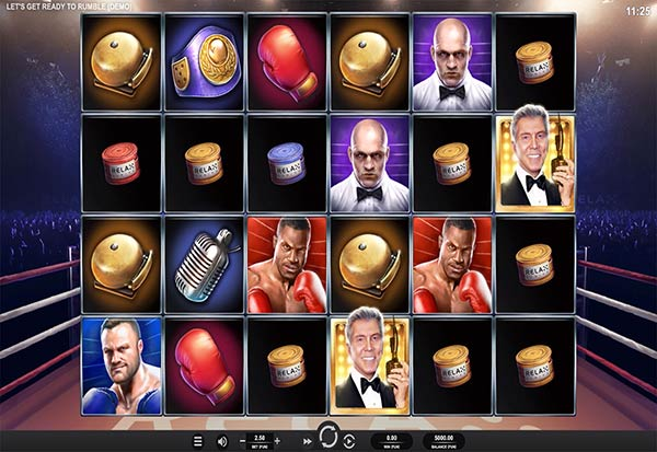 Let's Get Ready to Rumble 777 Slots Bay game