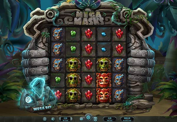 Mega Masks 777 Slots Bay game
