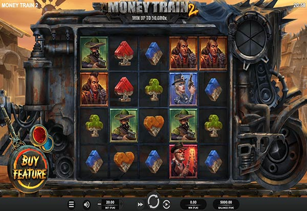 Money Train 2 777 Slots Bay game