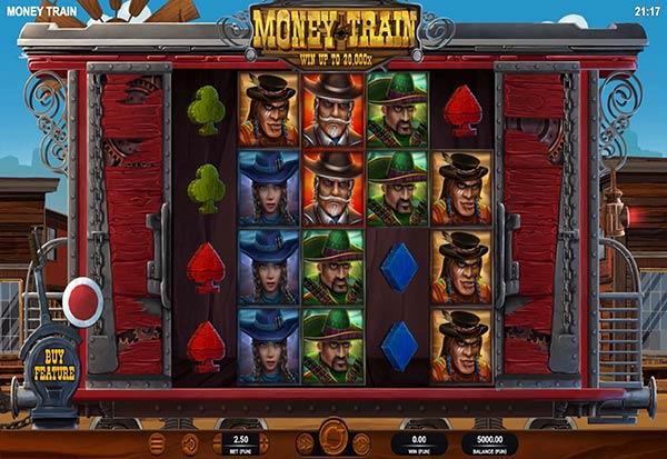 Money Train 777 Slots Bay game